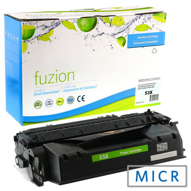 HP Laserjet P2015 High Yield MICR Toner - Black