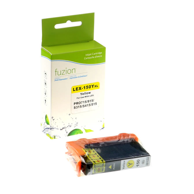 Lexmark #150XL Inkjet - Yellow